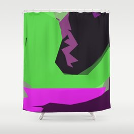 Green River of Abundance Shower Curtain