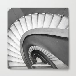 Stairs study No 3 Metal Print