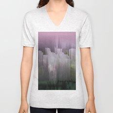 Melancholy / Floating Town / 30-11-16 Unisex V-Neck