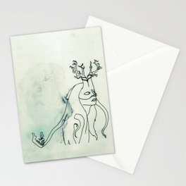 The Husband Eater (sketch) Stationery Cards