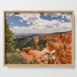 Agua Canyon at Bryce Canyon National Park Serving Tray