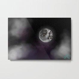 Beautiful self, The moon Metal Print