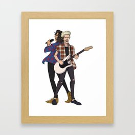 iHeart Harry and Niall Framed Art Print
