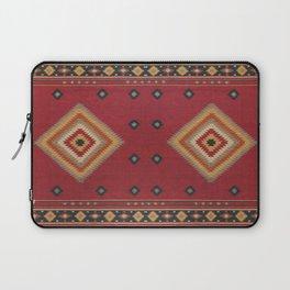 N14 - Red Anthropologie Oriental Moroccan Traditional Artwork. Laptop Sleeve