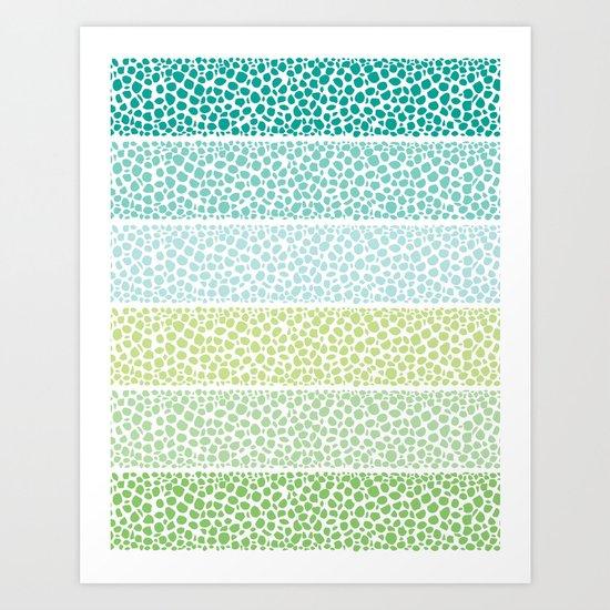 Zen Pebbles Art Print