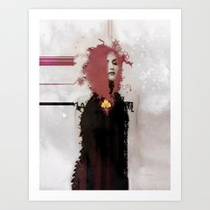With regards; elaboration Art Print