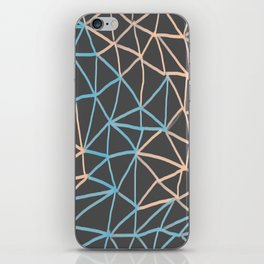 Non-linear Points iPhone Skin