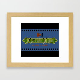 Castlevania II - What a Horrible Night to Have a Curse Framed Art Print