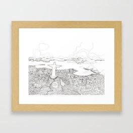 Rio di Janeiro Framed Art Print