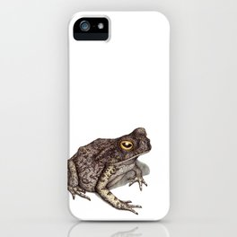 Toad by Lars Furtwaengler | Ink Pen | 2012 iPhone Case