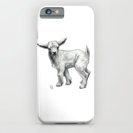 Little Goat Baby  SK134 iPhone Case
