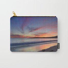"""""""Bolonia beach at sunset"""" Carry-All Pouch"""