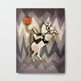 Headless Unicornman Metal Print