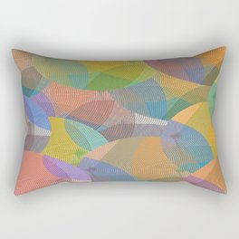 Abstract 102 Rectangular Pillow