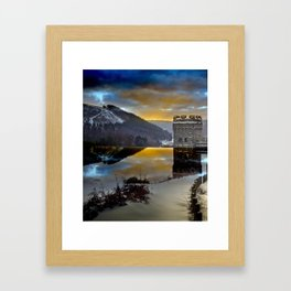 Howden Dawn Framed Art Print