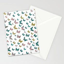 butterflies_pink Stationery Cards