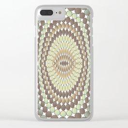 Reptile skin Clear iPhone Case