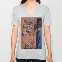 Ads and Tags Unisex V-Neck