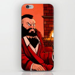 Zangief by the Fireplace iPhone Skin