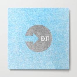 Exit #2 Metal Print