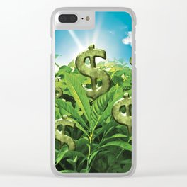 The Land Where Wealthy Grows Clear iPhone Case