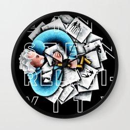 Eistein Wall Clock