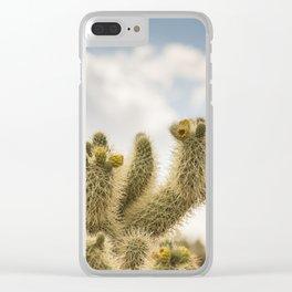 Super Bloom Cactus 7378 Clear iPhone Case