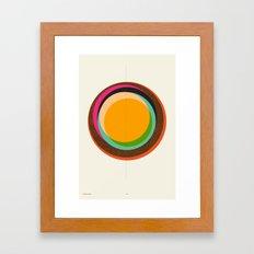 FUTURE GLOBES 001 Framed Art Print