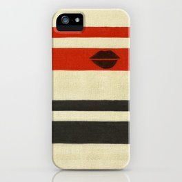 The Lady Vanishes iPhone Case