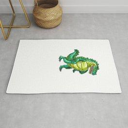 Crocodile Wife Alligator Reptile Animal Rug