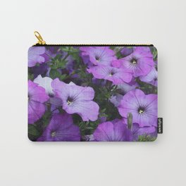 Petunias Carry-All Pouch