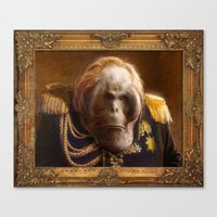 general Canvas Prints featuring General by Fabio Leone