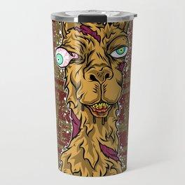 Don't mess with the llama! Travel Mug