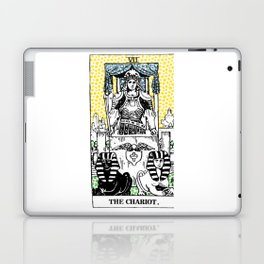 Modern Tarot 7 - The Chariot Laptop & iPad Skin