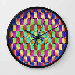 Tumbler #31 Psychedelic Optical Illusion Design by CAP Wall Clock
