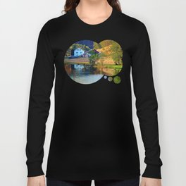 A summer evening along the river II | waterscape photography Long Sleeve T-shirt
