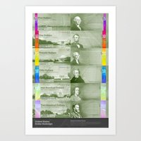 Redesigned US Dollar Art Print