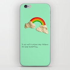 rainbows & poops iPhone & iPod Skin