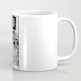 Death Tarot Card - Major Arcana - fortune telling - occult Coffee Mug