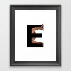 E. Framed Art Print