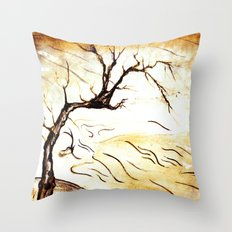 landscape Blossom Throw Pillow