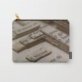 Book Art Maze 2 Carry-All Pouch