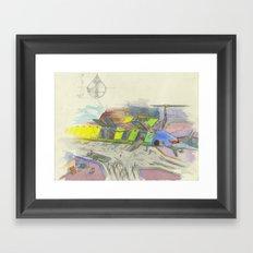 Seaport Framed Art Print