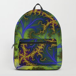 Feather Brocade #3 Backpack