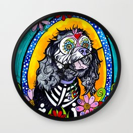 Angel the Havanese Poodle Mix Wall Clock