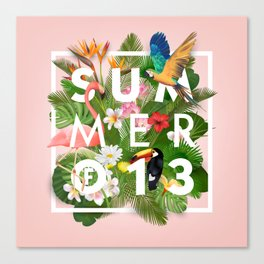SUMMER of 13 Canvas Print