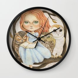Autumn Tales Wall Clock