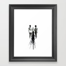 Emission Framed Art Print