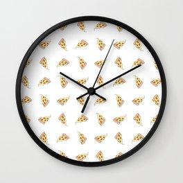 In Pizza We Trust Wall Clock