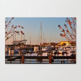 Northern Riverfront Canvas Print